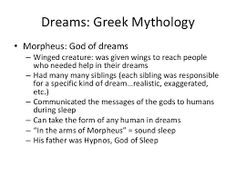 Image result for morpheus god of dreams