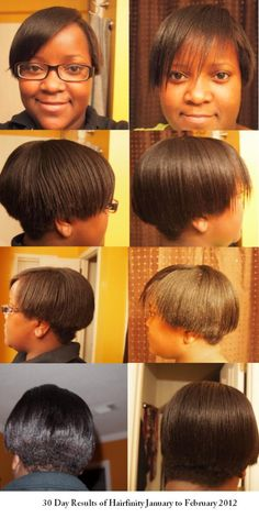 Hairfinity Before And After White People Happy hair growing on ...