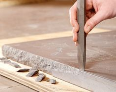 Build Your Own Concrete Table | The Family Handyman