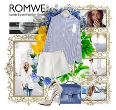 """""""ROMWE 6"""" by fashionmonsters ❤ liked on Polyvore featuring Brit-Stitch and romwe"""