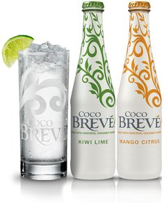 Coco Breve- alcohol beverage made with coconut water!