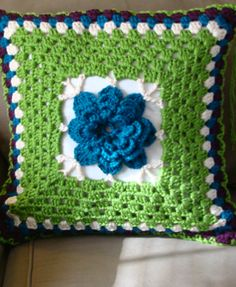 Crocheted Pillow Covers--FREE PATTERN