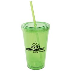 Be festive with the 16 oz. double wall acrylic tumbler with matching colored straw. Features twist-tight lid with gasket to prevent leakage. Ideal for school events, company picnics and sport sponsorships. Evans Manufacturing   4190 16 OZ. ALL-PRO™ ACRYLIC CUP   Made in the USA   Full Color Process   More Branded Cups and Bottles at https://www.evans-mfg.com/en_us/category/drinkware-1