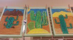 Een cactus schilderen