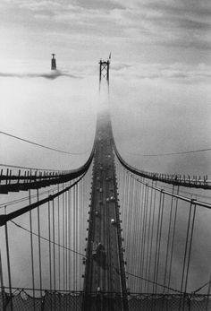 Carlos Lemos    Lisboa, Tejo: Ponte 25 de Abril, 1997