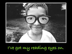 Reading eyes are on.