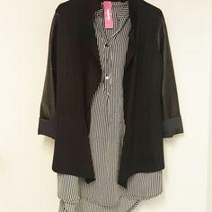 #maxy #camicia #righe #giacca #blazer #maniche #ecopelleeee #valeria #abbigliamento