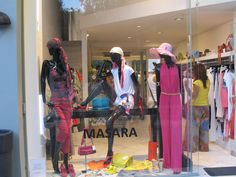 Shop window in Masara Boutique,Panagitsas 6 kifisia