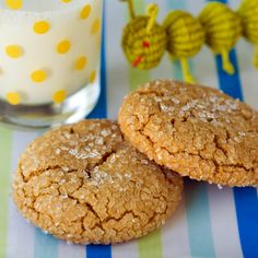 """This is a very decent Molasses cookie. It claimed to be a """"kid friendly"""" cookie, so not too spiced or Molasses-y. I think I will still seek a  more spiced version but I would make these again because they are very good. They do have that slight chewy texture. A very nice cookie."""