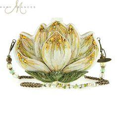 Revival Lotus Handbag Beaded, Embellished Designer Handbags by Mary Frances♥♥