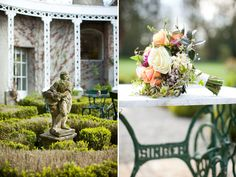 Christina-Brosnan-{Juliet-and-Ryan}-Bouquet - Read more on One Fab Day: http://onefabday.com/marlfield-house-wedding-wexford/