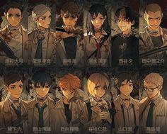 Haikyuu Karasuno, Nishinoya, Kageyama Tobio, Haikyuu Fanart, Haikyuu Anime, Hinata, Mafia, Anime Guys, Manga Anime