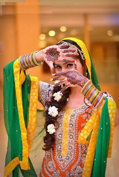 Which type of #dress you would like to wear on your #Mehndi?  1) Kurta Shalwar 2) Chooridar 3) Sharara or Gharara  Reply with 1, 2, or 3  http://www.shaadi.org.pk/