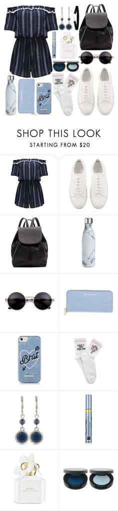 """take me with you"" by isabellaobrien14 ❤ liked on Polyvore featuring WithChic, Witchery, S'well, Michael Kors, Skinnydip, Yeah Bunny, Nine West, Estée Lauder and Marc Jacobs"