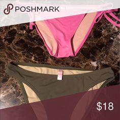 Victoria Secret bikini bottoms Bundle deal by two for the price of one Victoria's Secret Swim One Pieces