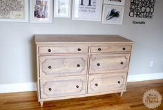 Ana White | Build a Emily Dresser | Free and Easy DIY Project and Furniture Plans