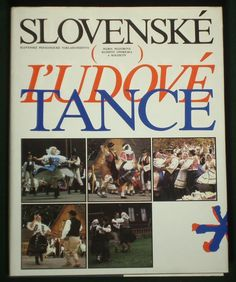 BOOK Slovak Folk Dances choreography steps regional music costume kroj SLOVAKIA picclick.com