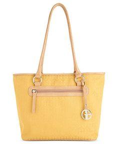 Giani Bernini Handbag, Annabelle Tulip Tote - Web Busters - Handbags & Accessories - Macy's