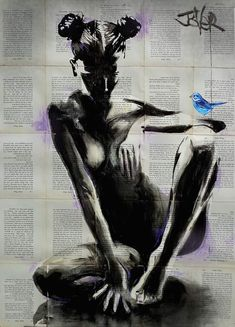 View LOUI JOVER's Artwork on Saatchi Art. Find art for sale at great prices from artists including Paintings, Photography, Sculpture, and Prints by Top Emerging Artists like LOUI JOVER. Newspaper Art, Buy Art Online, Bird Drawings, Life Drawing, Drawing Art, Australian Artists, Portrait Art, Erotic Art, Oeuvre D'art
