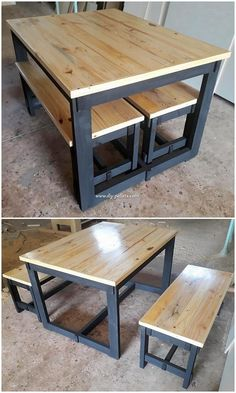 Incredible DIY Projects from Recycled Wood Pallets Incredible DIY Projects from Recycled Wood Pallets Do you have wood pallet furniture in your house? Did you ever get the feeling impression that this wood pallet is giving you out the feel… - Diy Furnitu Pallet Furniture Designs, Wooden Pallet Furniture, Diy Furniture Easy, Furniture Projects, Garden Furniture, Furniture Stores, Furniture Plans, Luxury Furniture, Modern Furniture