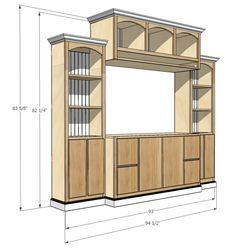JRL Woodworking | Free Furniture Plans and Woodworking Tips This site has free plans for furniture, shelves, and other DIY sites.