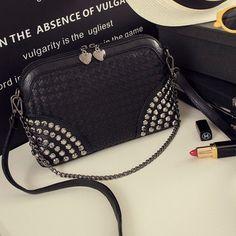 Crossbody Studded Handbag