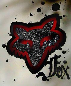 Fox in the chicken coop ya-bitch! Fox Racing Logo, Fox Racing Tattoos, Fox Logo, Dirt Bike Tattoo, Bike Tattoos, Motocross Tattoo, Fox Rider, Bike Wedding, New Dirt Bikes