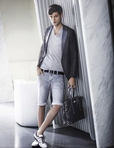 The Daily Ven- Man-Style Wednesdays!! Porsche Mens Fashion Style Collection Spring Summer 2012 RawTec Blazer Photos 1 Porsche Mens Fashion Style Collection Spring/Summer 2012