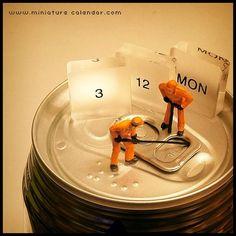 . 3.12 mon -They can open the lid.- . 缶の蓋が開かない。 そんな時は彼らにおまかせ! . . という全く今日という日に関係のないネタで今週はスタート!
