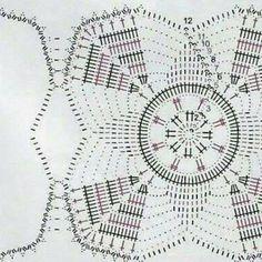 One of the most beautiful crochet works I have ever seen. Crochet Baby Poncho, Crochet Granny, Filet Crochet, Crochet Table Runner, Crochet Tablecloth, Crochet Motif Patterns, Crochet Stitches, Crochet Art, Crochet Home