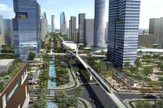 Residential Land, Plots For Sale, City Model, Futuristic City, Peaceful Life, Green Fields, Smart City, New City, Fantasy Landscape
