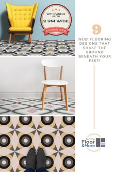 Exclusive patterned vinyl flooring direct from the manufacturer and delivered to your door in under 2 weeks. Individually made at bespoke size & scale to truly match your space and with panels up to wide, are you really still sticking with beige? Hallway Flooring, Vinyl Flooring, Kitchen Flooring, Camper Flooring, Floor Design, Tile Design, Barn Crafts, Floors Direct, Patterned Vinyl