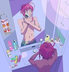 Character Aesthetic, Aesthetic Anime, Character Art, Character Design, Anime Girl Hot, Cute Anime Guys, Anime Art Girl, Happy Tree Friends, Battle Rap