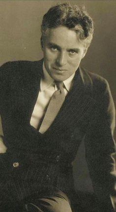 """To Edgar From Charlie"" Charlie Chaplin, 1925 - Photo by Edward Steichen."
