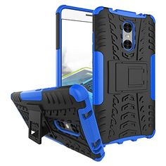 Xiaomi Redmi Pro Case, Xiaomi Redmi Pro Cover, Dual Layer Protection Shockproof Hybrid Rugged Case Hard Shell Cover with Kickstand for 5.5'' Xiaomi Redmi Pro (Navy Blue) -- Awesome products selected by Anna Churchill