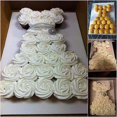 Γλυκές Τρέλες: Τούρτες γενεθλίων με cupcakes!