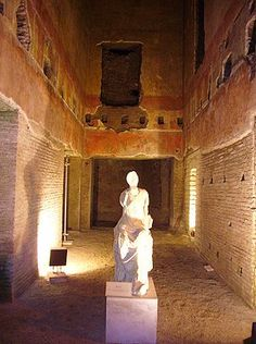 what's left of Nero's Golden Palace.... before it's gone completely http://www.usatoday.com/tech/science/discoveries/2009-09-29-nero_N.htm