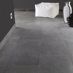 Klinker Hill Ceramic Variano Mörkgrå 30x60 KLL4005-7 Downstairs Bathroom, Bathroom Inspo, Soho, Tile Projects, Tile Floor, Flooring, Storage, Design, Home Decor