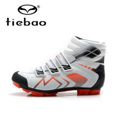 58.44$  Watch now - http://alic4f.shopchina.info/go.php?t=32763374474 - Tiebao Winter New Men Cycling Shoes MTB Mountain Bike Shoes Self-locking Breathable Bicycle Shoes Boots Sapatos de ciclismo 58.44$ #shopstyle