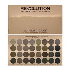 Makeup Revolution - Ultra 32 Shade Eyeshadow Palette - Flawless