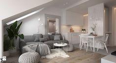 Apartament Praska Park - Salon, styl skandynawski - zdjęcie od ELEMENTY scandinavian design living room | minimalism | inspiration | design