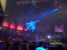 Club party atmosphere