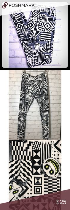 LulaRoe, Nightmare Before Christmas, TC Leggings Brand new. Buttery soft and super comfortable! Featuring Lock, Shock and Barrel from Nightmare Before Christmas. TC fits sizes 12-22. LuLaRoe Pants Leggings
