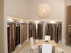 Curtain shop display ideas screen shower 0907 on decorating awesome design store splendid Display Design, Display Ideas, Curtain Shop, Fabric Display, Shop House Plans, Textiles, Shop Front Design, Curtain Designs, Shop Window Displays