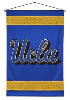 UCLA BRUINS SIDELINES WALL HANGING UCLA