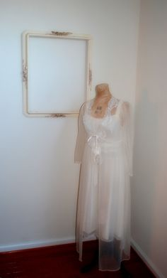 Wedding attire or costume #ghost #vintage #forsale #etsy #haunted #halloween #bride #zombie #rjsthisandthat