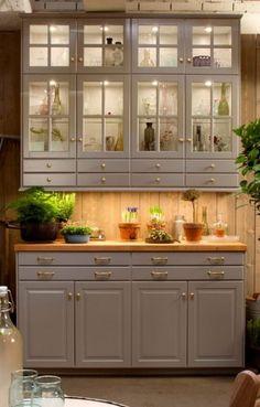 Quality Of Ikea Kitchen Cabinets . Quality Of Ikea Kitchen Cabinets . Stunning F White Kitchen Cabinets Design Kitchen Ikea, Ikea Kitchen Design, Kitchen Redo, Kitchen Furniture, New Kitchen, Kitchen Hutch, Kitchen Storage, Sage Kitchen, Larder Cupboard