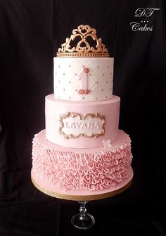 Little Princess - Cake by Djamila Tahar (DT Cakes)