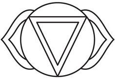 Chakra Symbols - Third Eye design (UTH5055) from UrbanThreads.com