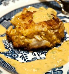 Crab Cakes Recipe from addapinch.com